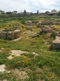 Archäologischer Park mit Ruinen