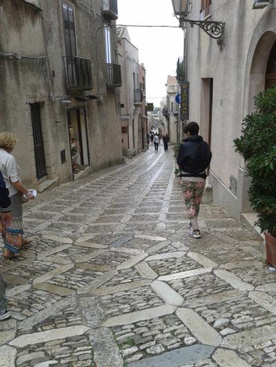 Via Vittorio Emanuele in Erice