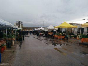 Sonntäglicher Markt in Marsala
