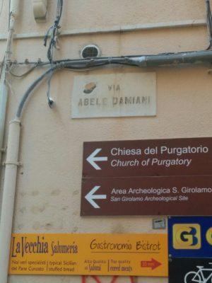 Adresse der Bäckerei Ragona in Marsala