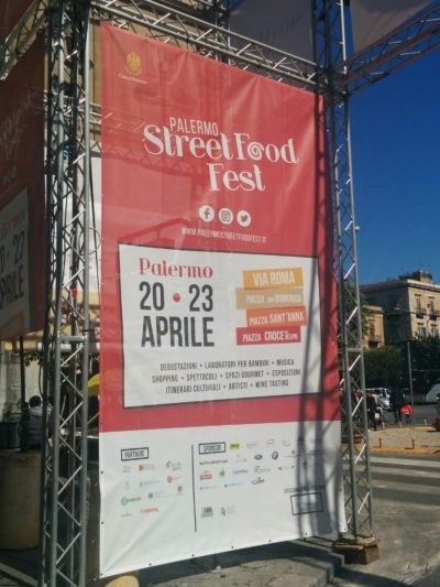 Street Food Messe in Palermo