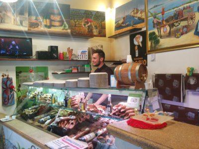 Bekanntes Cannolo Geschäft in Marsala
