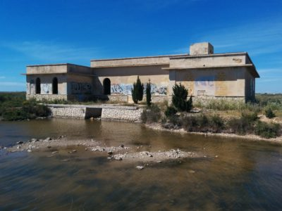 Das Wasserhaus am Capo Feto