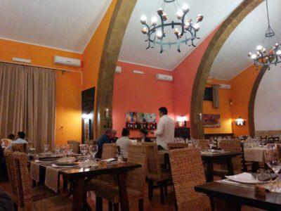 Innenansicht im Restaurant Baglio Dei Mille