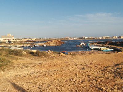 Kleiner Hafen vor dem Restaurant A Due Passi Dal Mare