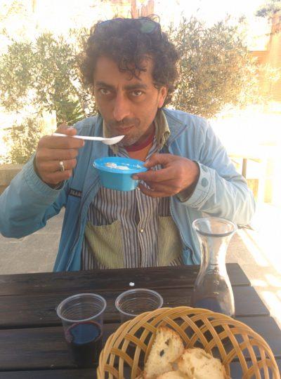 Frühstück auf Sizilianisch, mit frischem Ricotta