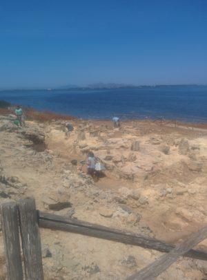 Aktuelle Ausgrabungen auf der Insel