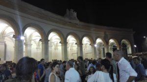 Alter Fischmarkt in Trapani bei Nacht
