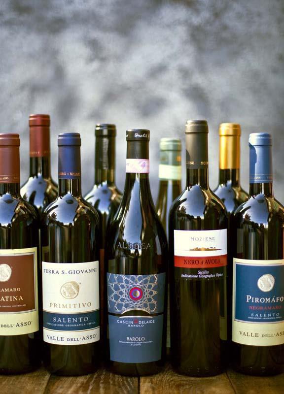 Wein der Azienda Agricola Moziese