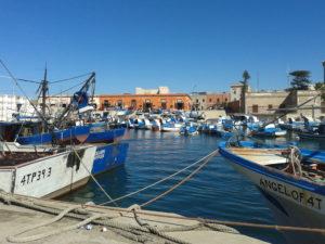 Der Hafen von Favignana