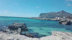Am Strand von Lido Burrone
