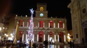 Marsala in festlicher Weihnachtsstimmung