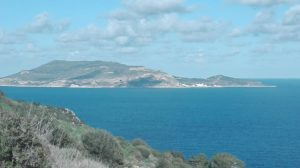 Blick auf die Insel Levanzo