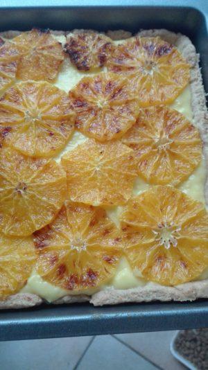 So, könnte dann Ihr Orangenkuchen aussehen