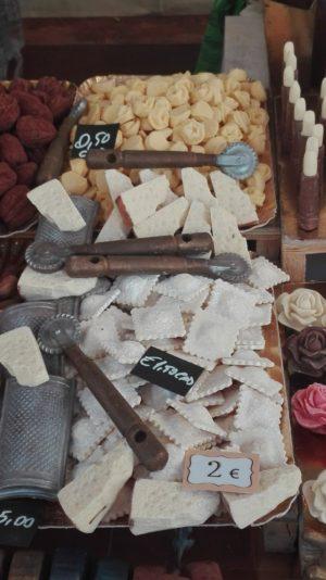 Italienische Teigwaren - alles aus Schokolade