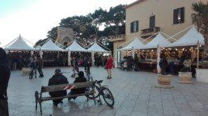 Schokoladenfest auf der Piazza Mokarta in Mazara del Vallo