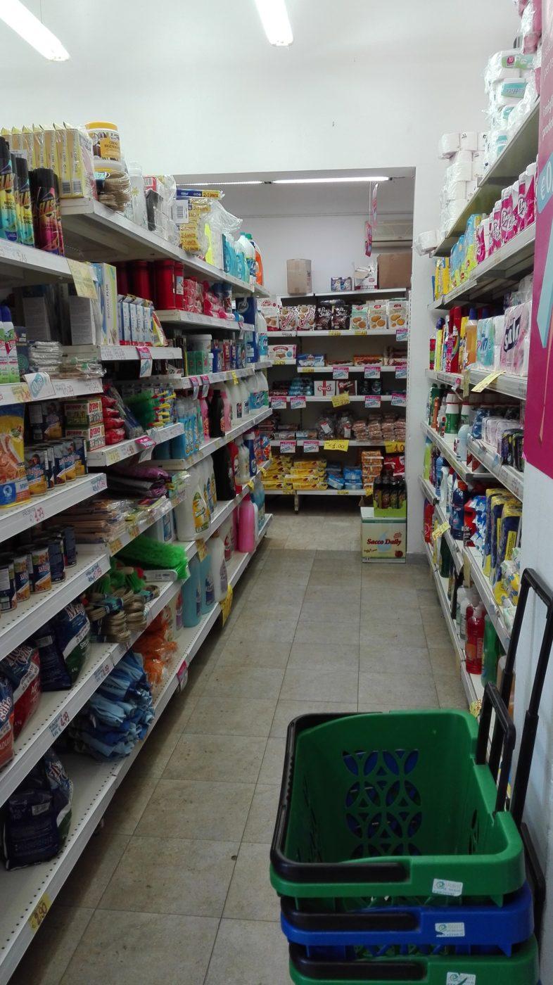 Im Mini Market gibt es alles was man zu einem guten Leben braucht