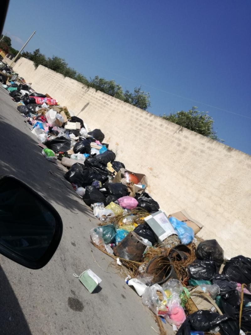 Müll am Meter und das nicht nur an einer Stelle