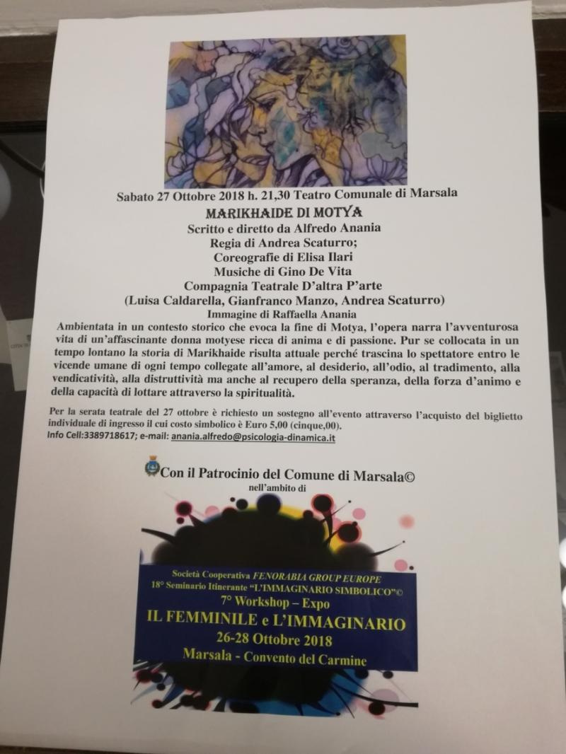 Programm: Marikhaide di Motya